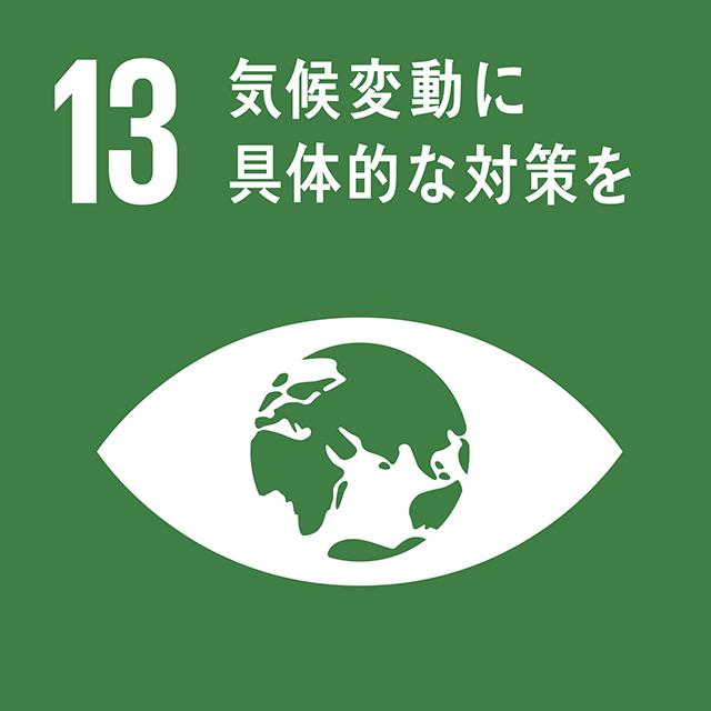 気候変動に具体的な対策を|SDGsアイコン13