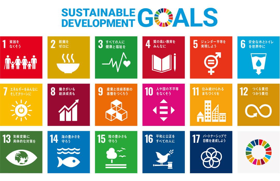 SDGsロゴ一覧2019年8月改定